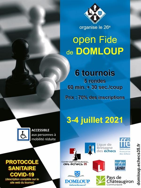 26e open Fide de Domloup